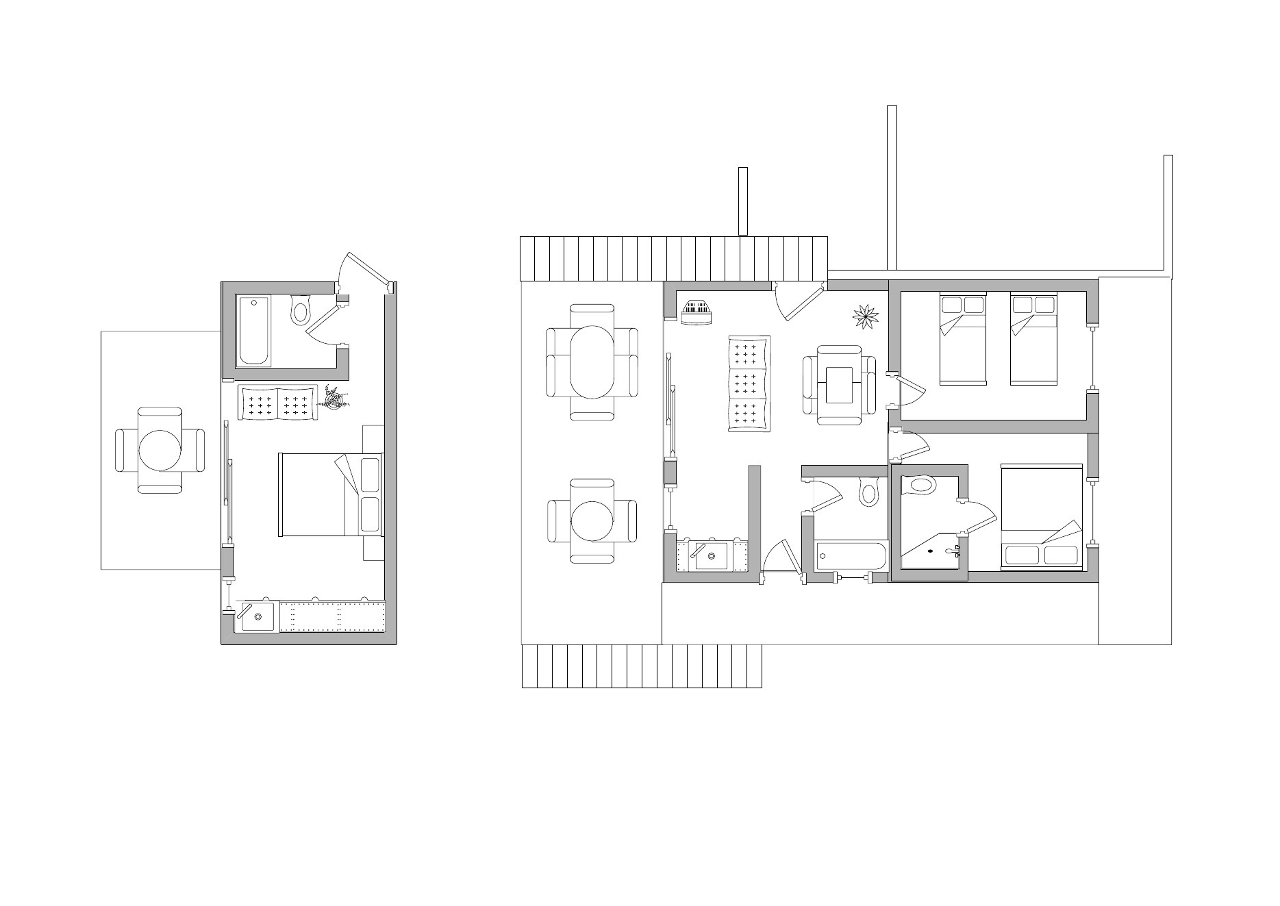 3 Bed Condo Floorplan